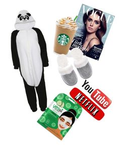 """""""Perfect Sunday be like..."""" by suefashionwardrobe on Polyvore featuring Victoria's Secret and Yes to Cucumbers"""