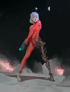 ArtStation - Natalya, Kev Chan
