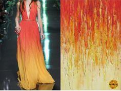 váy cảm hứng từ thiên nhiên - Tìm với Google