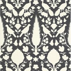 Schumacher wallpaper at discount prices. Schumacher has a love for big and bold patterns. is your authorized dealer for Schumacher wallpaper. Peacock Wallpaper, Fabric Wallpaper, Wallpaper Roll, Pattern Wallpaper, Wallpaper Ideas, Eclectic Wallpaper, Contemporary Wallpaper, Coral Wallpaper, Black And White