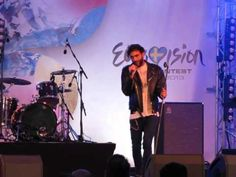 ESCKAZ live in Malmö: Marco Mengoni (Italy) - Put The Light On (in Eurovillage)