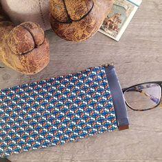 Aureliberty sur Instagram: Suite des cadeaux de Noël faits main. Ici un étui à lunettes pour beau-papa. Premier essai réalisé grâce au tuto gratuit #mirette de…
