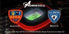 Prediksi Bola GFC Ajaccio vs Bastia 24 April 2016