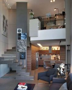 99 Fabouls Modern House Interior Ideas That You Must See 68 - topzdesign . Minimalist House Design, Minimalist Home, Interior Styling, Interior Design, Loft, Making Ideas, Interior And Exterior, Inspiration, Furniture