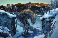 Ivar Rødningen Web Site:  I contributed to the design for the trolls in the notable Troll Hunter film (2010, André Øvredal) a job that was well matched to my own particular interests in these predominantly Scandinavian mythical beings
