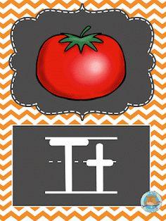 SGBlogosfera. María José Argüeso: CON TIZA Y EN INGLÉS English Alphabet, Preschool, Victoria, Lettering, Crafts, Ideas, Alphabet Cards, Preschool Alphabet, Language