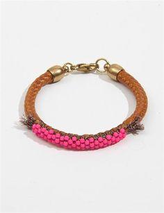 Bluma Etoile Bracelet-Tan/Pink