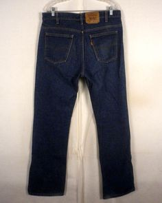 vtg 90s euc Levis 501 men's Button Fly Denim Jeans red tab 36 X 32 ...