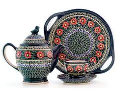 Zaklady Unikat 2 handled bowl   Art. 134 Pattern  Form GU1347  dekoracje artystyczne