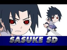 Cómo dibujar a SASUKE SD de NARUTO | How to draw Sasuke SD Sasuke Drawing, Naruto Drawings, Naruto Shippuden, Manga, Videos, Anime, Movie Posters, Art, Learn To Draw