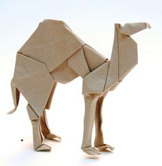 Origami camel #origami #camel #japanese                                                                                                                                                                                 More