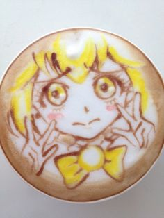 Japanese anime shoujo latte