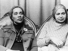 Coretta Scott King and Rosa Parks - Women's History Month with The Single Mom Bomb