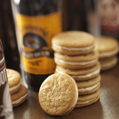 Root Beer Cookies, very good.  Add some vanilla for more of an A&W taste.  They are much darker than this picture, you will want to make a double batch ~J
