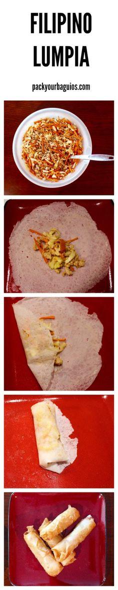 Filipino lumpia | Filipino recipe | spring rolls