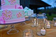 Candles Wedding Events, Our Wedding, Candles, Cake, Desserts, Food, Design, Tailgate Desserts, Deserts