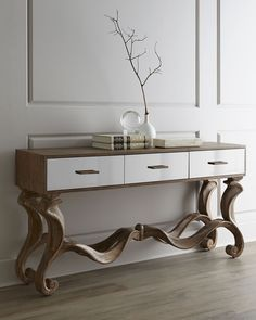 In love with this console piece! Ambella Gisselle Console - Neiman Marcus