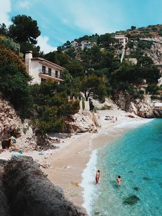 Someday soon we will be exploring salty coasts again. For now lets just stay safe and calm memorizing salty summer days. Nice, South Of France, Mykonos, Santorini, Nice France Beach, Nice Beach, Places To Travel, Places To Go, The Beach