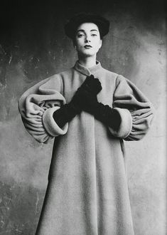 vintage everyday: Mysterious Fashion from between 1940s and 1950s by Cristóbal Balenciaga