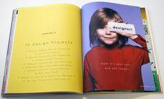 Desde cedo - livro ensina noçoes de design gráfico e tipografia para crianças http://www.bluebus.com.br/livro-ensina-nocoes-design-grafico-tipografia-criancas/