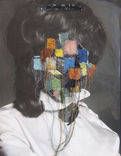 A common critique of photographys is the flatness of the image. Chilean artist Jose Romussi, however, disagrees. Collages, Collage Art, Jose Romussi, Distortion Art, Art Alevel, Texture Images, Identity Art, Ap Art, Gcse Art