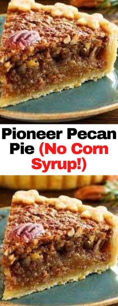Pecan Desserts, Pecan Recipes, Pie Recipes, Easy Desserts, Sweet Recipes, Delicious Desserts, Dessert Recipes, Cooking Recipes, Yummy Food