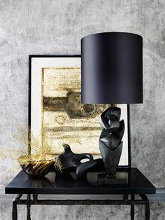 Black Shade - Porta Romana Photography: Damian Russell. Styling & Art Direction: Finola Inger
