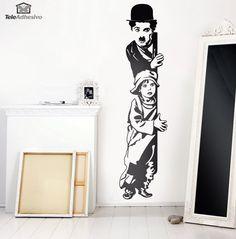 Adesivi Murali Chaplin The Kid
