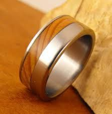 Image result for wooden engagement rings