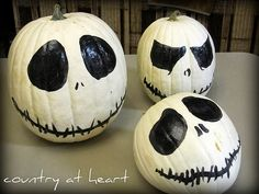 Pumpkin Painting Ideas | And these minion pumpkins are just WAY too cute! They can be found ...