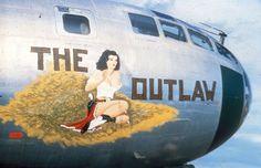 "art Nez sur B-29 Superfortress ""The Outlaw"""