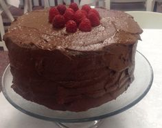 Chocolate Cake with a Chocolate ganache and praline topping | Sheila's ...