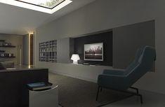 Blade Living MODULNOVA #grey #cement #living #design #interiordesign