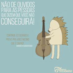 ≈ Baixista gente boa fica longe de pessoas baixo astral! ≈  #baixistatudogenteboa #toquemaisbaixo www.toquemaisbaixo.com.br