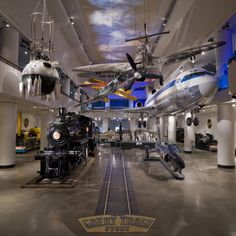 The Museum of Science and Industry Transportation Gallery
