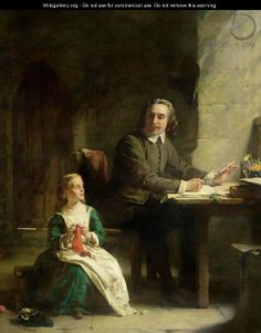 In Beford Jail John Bunyan and his Blind Daughter by Alexander Johnston (Lamentations, 2014)