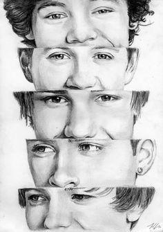One Direction 1 by Csillipepper.deviantart.com on @deviantART