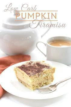 Low Carb Keto Pumpki Low Carb Keto Pumpkin Tiramisu Recipe. LCHF...  Low Carb Keto Pumpki Low Carb Keto Pumpkin Tiramisu Recipe. LCHF THM Banting Atkins. Grain-free and Sugar-Free via All Day I Dream About Food Recipe : http://ift.tt/1hGiZgA And @ItsNutella  http://ift.tt/2v8iUYW