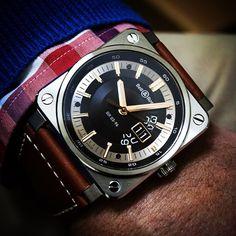 BR 03-96 GRANDE DATE GOLDEN HERITAGE. Via @bellross_australia #BellAndRoss #BellRossWatches #BellRossCommunity #GoldenHeritage #BR0396 #BigDate #InstaWatch #WatchOfTheDay #Watches #Timepieces #Menswatches #WristShot