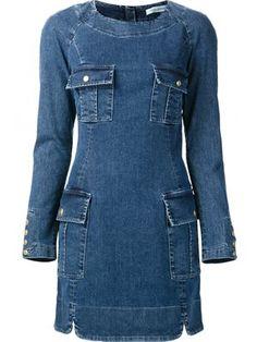 Shop Christian Dior Vintage embellished denim jacket.