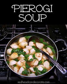 Pierogi Soup - Redhead Can Decorate