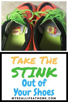 So my son took off his soccer cleats in my truck one day and I couldn't believe the smell! Have you ever had something similar like that happen? Well, I found a solution to take the stink out of your shoes and you won't believe how easy it is! Homemade Cleaning Products, House Cleaning Tips, Cleaning Hacks, Cleaning Recipes, Spring Cleaning, Smelly Shoes, Foot Odor, Housekeeping Tips, Football Shoes