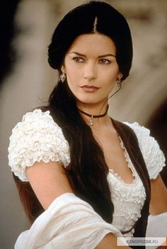 The mask of Zorro. Catherine Zeta-Jones