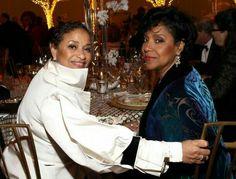Phylicia Rashad and Debbie Allen