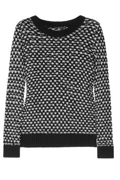 THEORY  Theda open-knit cotton sweater