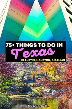 The best things to do in Texas for southern bucket lists and weekend getaways. Fun travel attractions in Austin, Dallas, Houston, and beyond with kids, couples or girls trips. Free and cool places to visit for road trips and photography from Hill Country to San Antonio, national parks Instagram spots for nature, adventure and city escapes. Vacation ideas in #Texas and the South. #tx #roadtrip #usa
