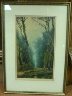 1924 French Mezzotint Framed Artwork   eBay Framed Artwork, French, World, Painting, Ebay, French People, Painting Art, Paintings, French Language