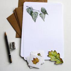Briefpapier set (16-delig)   Leaves