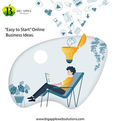 Here is our list of 10 online business ideas for 2020: 1. Start a Blog and Monetize it 2. Get Started With Affiliate Marketing 3. Set Up an E-Commerce Site 4. Self-Publish a Book on Amazon 5. Create a Digital Product or Course 6. Become a YouTuber 7. Start App Development 8. Learn Facebook Advertising 9. Learn and Master SEO 10. Become a Web Developer  Its a new chance for you to start an online business and create an absolute financial and lifestyle freedom for yourself. Online Marketing Strategies, Marketing Goals, Seo Marketing, Digital Marketing Services, Affiliate Marketing, Web Design Agency, Web Design Services, Web Design Company, Professional Seo Services