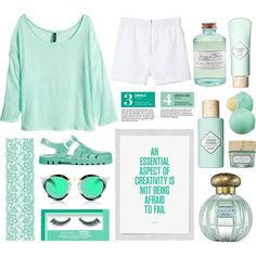 """Green"" by jayamannammiller on Polyvore"